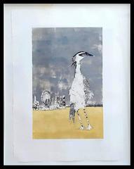 Strutting Heron