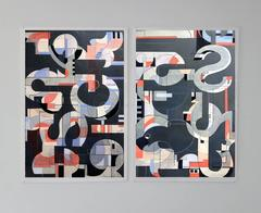 Sidewinder I and II Diptych