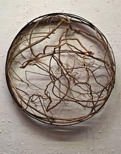Untitled (Vines in Hoop)