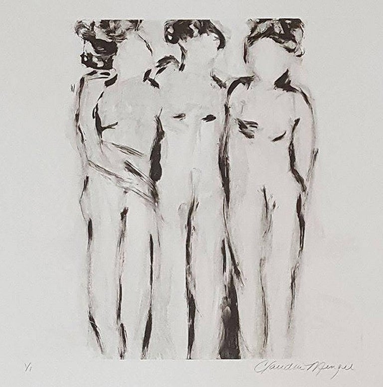 Claudia Mengel - Three Figures II 1