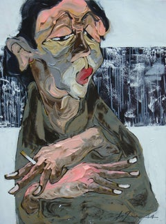 'Thinking' Oil on Canvas