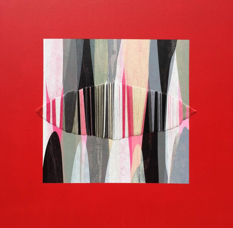 Raul de la Torre Abstract Painting - Poemes XXXVII
