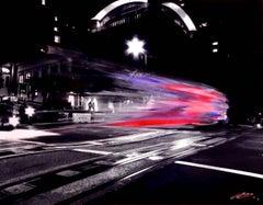 Next Stop Lefty's - Original Mixed Media Artwork on Aluminum