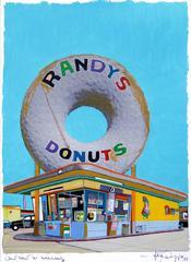 Giant Donut in Inglewood