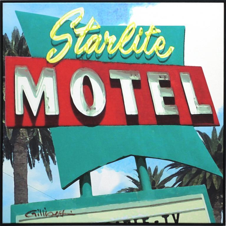 Michael Giliberti Abstract Painting - Starlite Motel