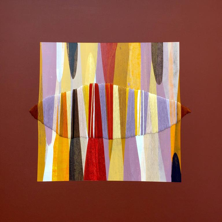 Raul de la Torre Abstract Painting - Poemes XXXIX