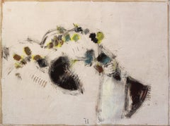 AWH 165 - Original Figurative Abstract Still Life Oil Painting