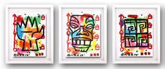 Tiki Triptych