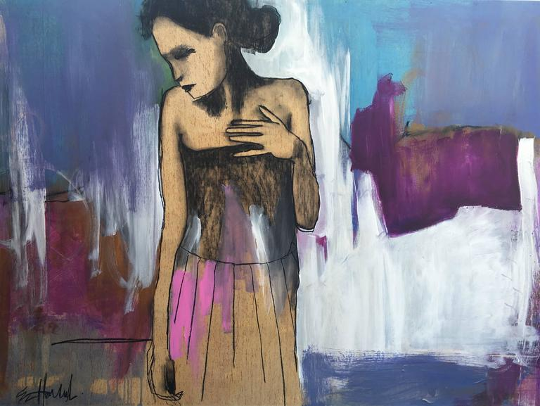 Erin Hammond Figurative Painting - Faux Pas