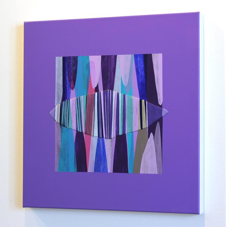 Poemes XLV - Abstract Painting by Raul de la Torre