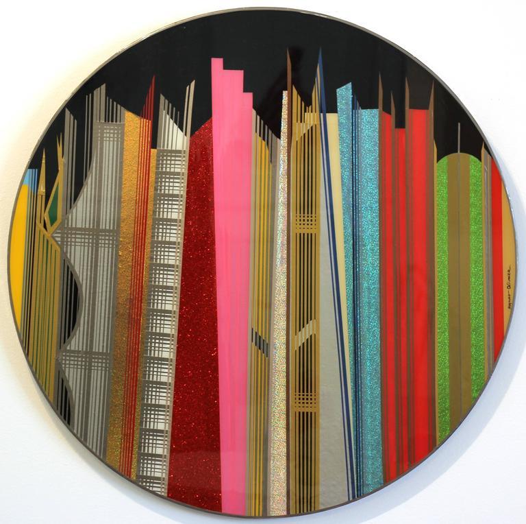 Mauro Oliveira Abstract Painting - Dubai