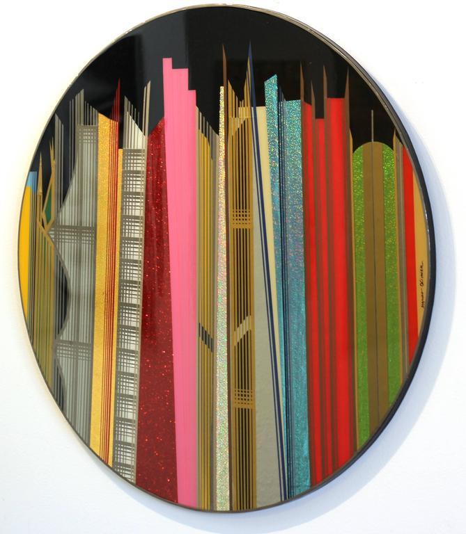 Dubai - Contemporary Painting by Mauro Oliveira