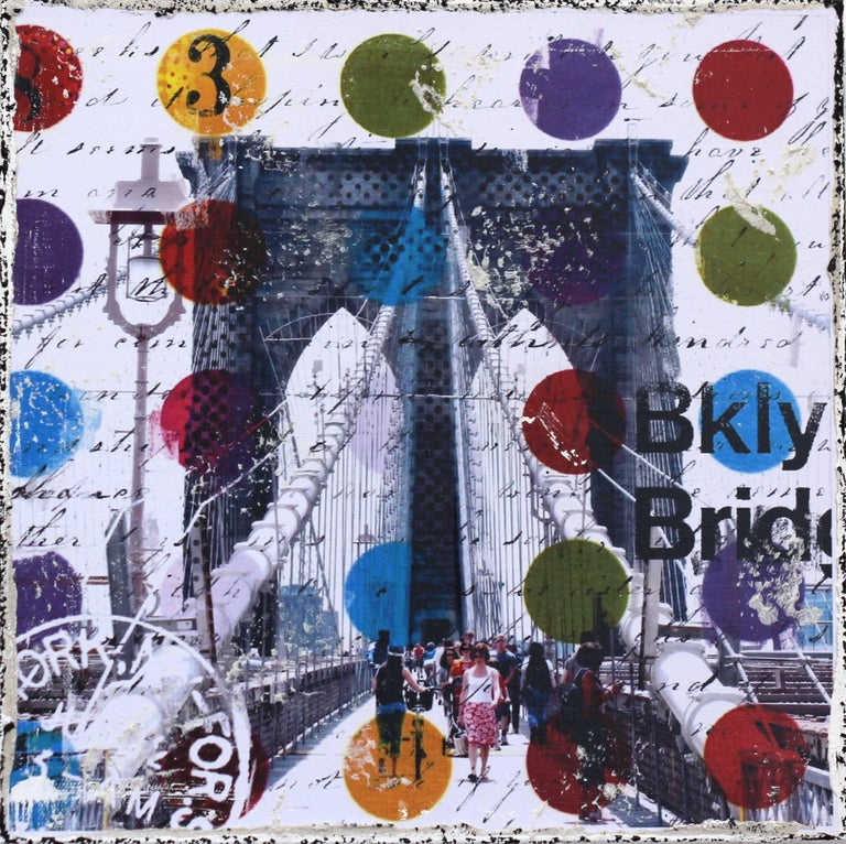 Follow Me To Brooklyn - Mixed Media Art by Marion Duschletta