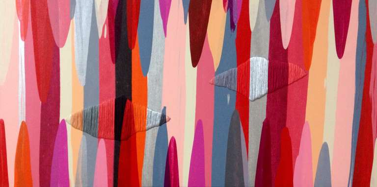 Raul de la Torre Mixed Media Art - Poemes XI
