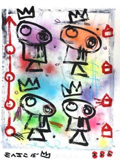 Dreaming Quartet - Original Gary John Artwork