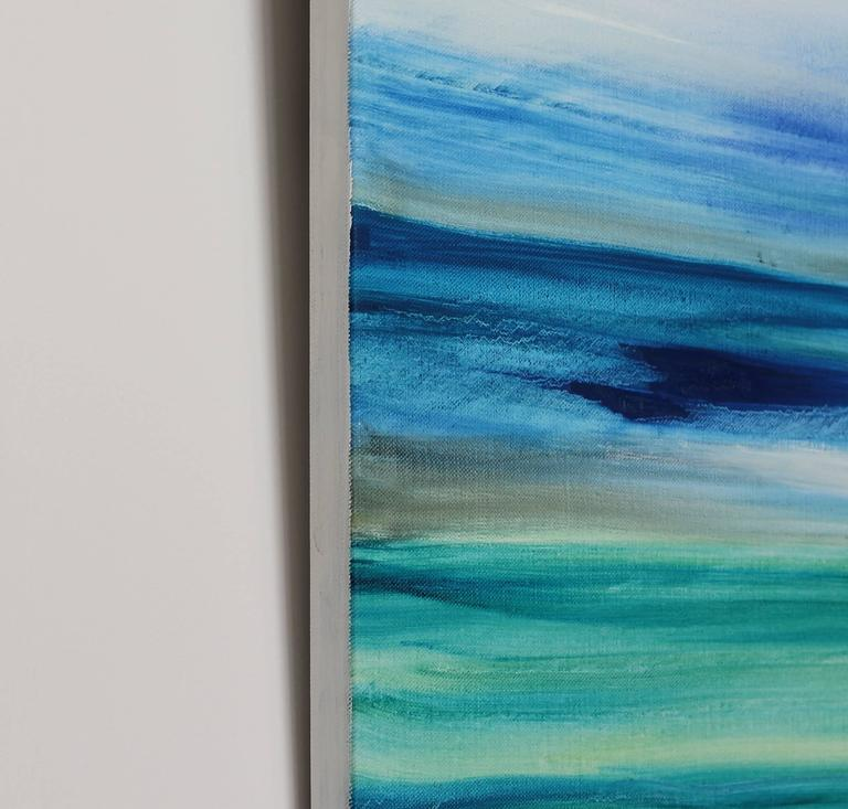 Air and Water - Large Original Abstract Landscape Painting For Sale 1