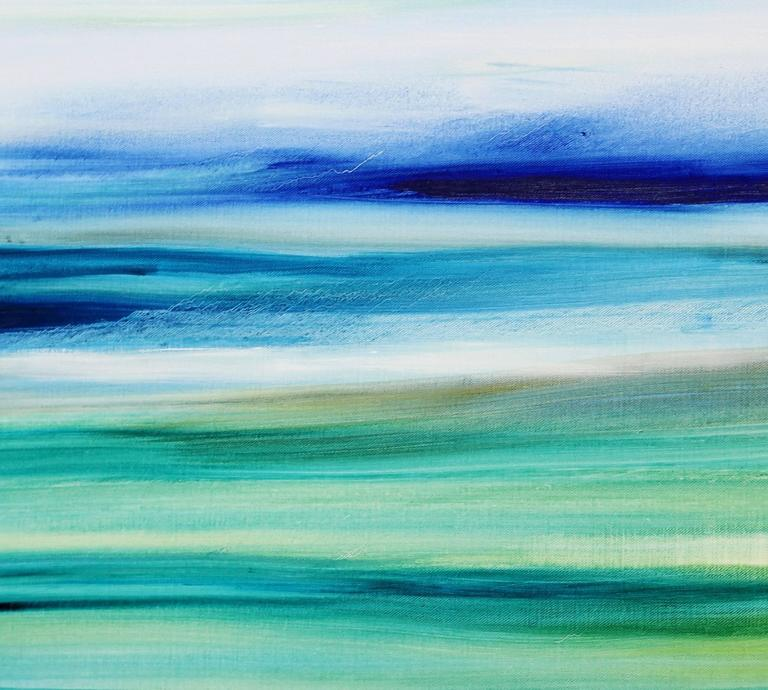 Air and Water - Large Original Abstract Landscape Painting For Sale 3