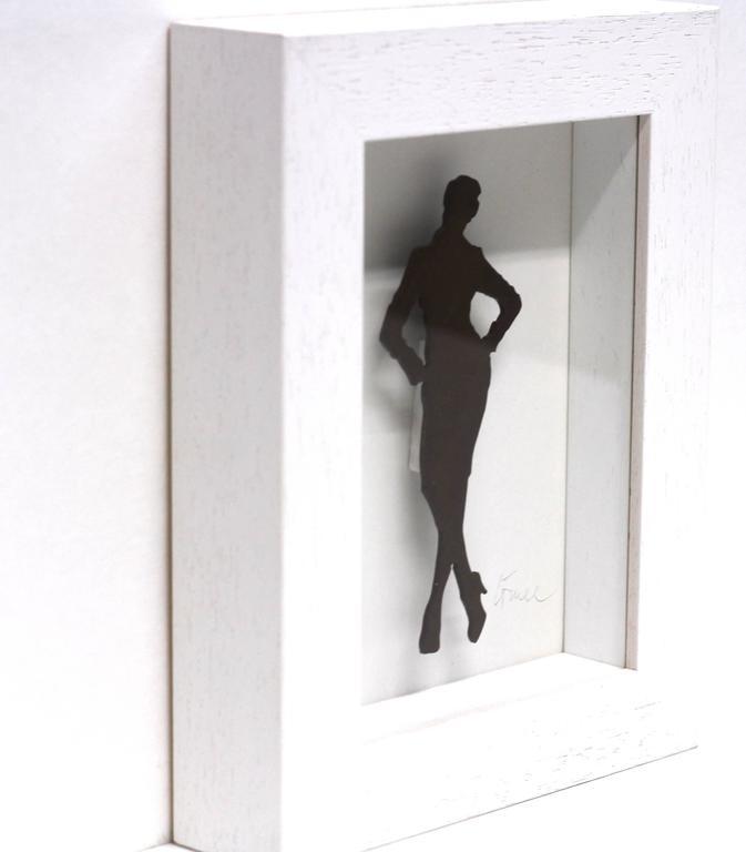 Emma (8/99) - Contemporary Sculpture by Gerhard Voelkle