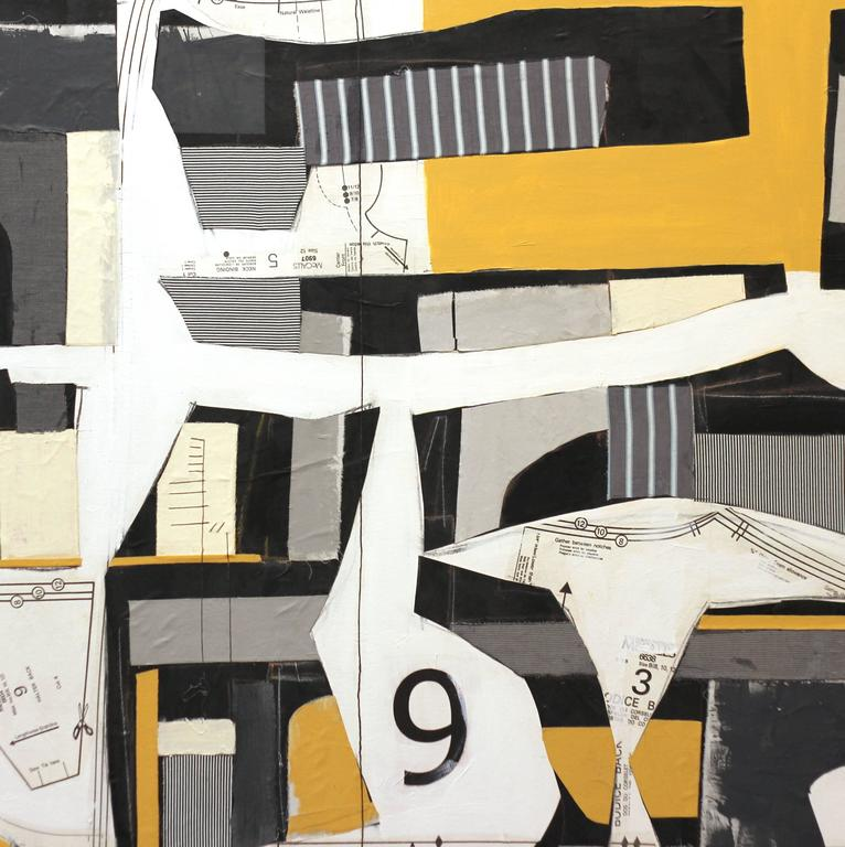 Deconstructed No. 9 - Abstract Painting by Susan Washington