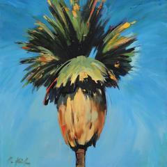 Bright Blue Palm