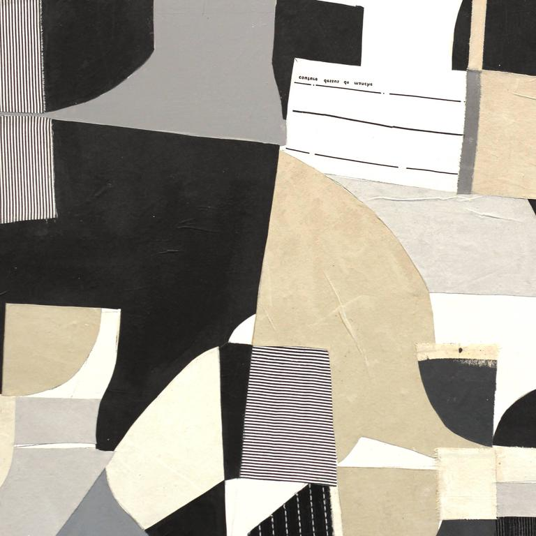 Composition No.10-1 - Brown Abstract Painting by Susan Washington