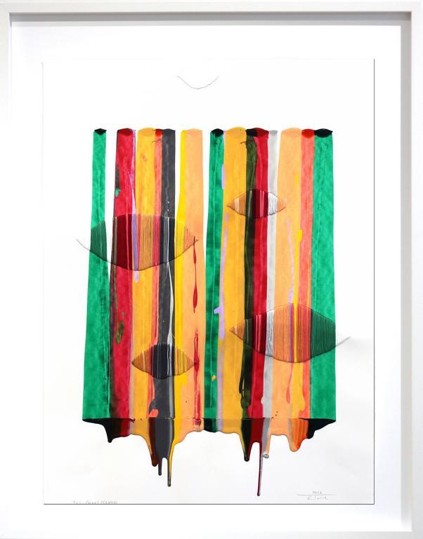 Fils I Colors CCLXXIII  - Painting by Raul de la Torre