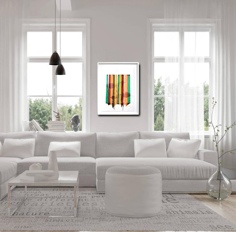 Fils I Colors CCLXXIII  - Contemporary Painting by Raul de la Torre