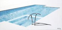Deep Aqua Velvet Pool