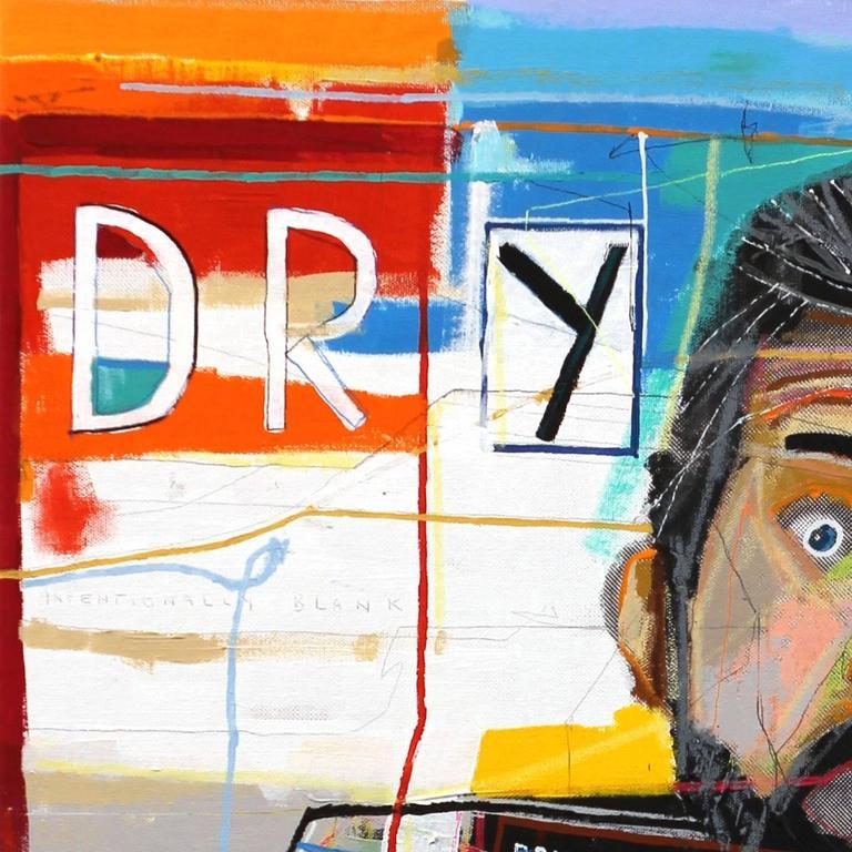 Drought - Pop Art Painting by Fabio Coruzzi