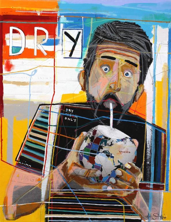 Fabio Coruzzi Figurative Painting - Drought