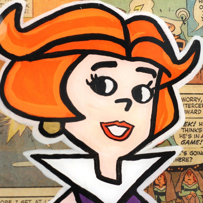 Meet the Jetsons: Jane - Contemporary Painting by Sean Keith