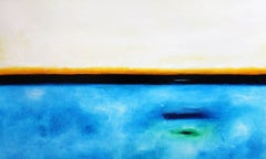 """Santa Barbara Sunset"", Large Original Abstract Landscape Artwork"