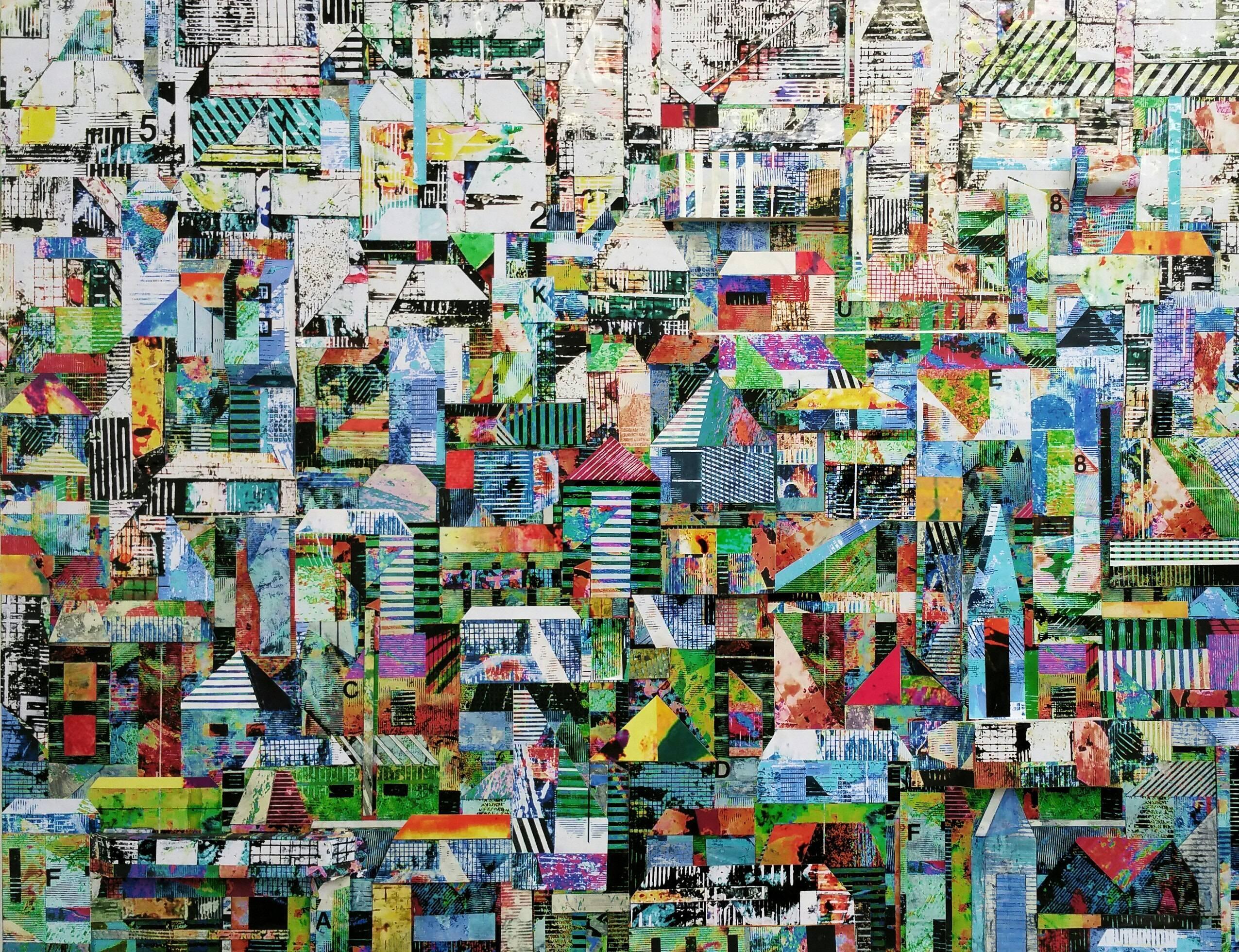 Sublime 709 - Original Photographic Collage Mixed Media Artwork
