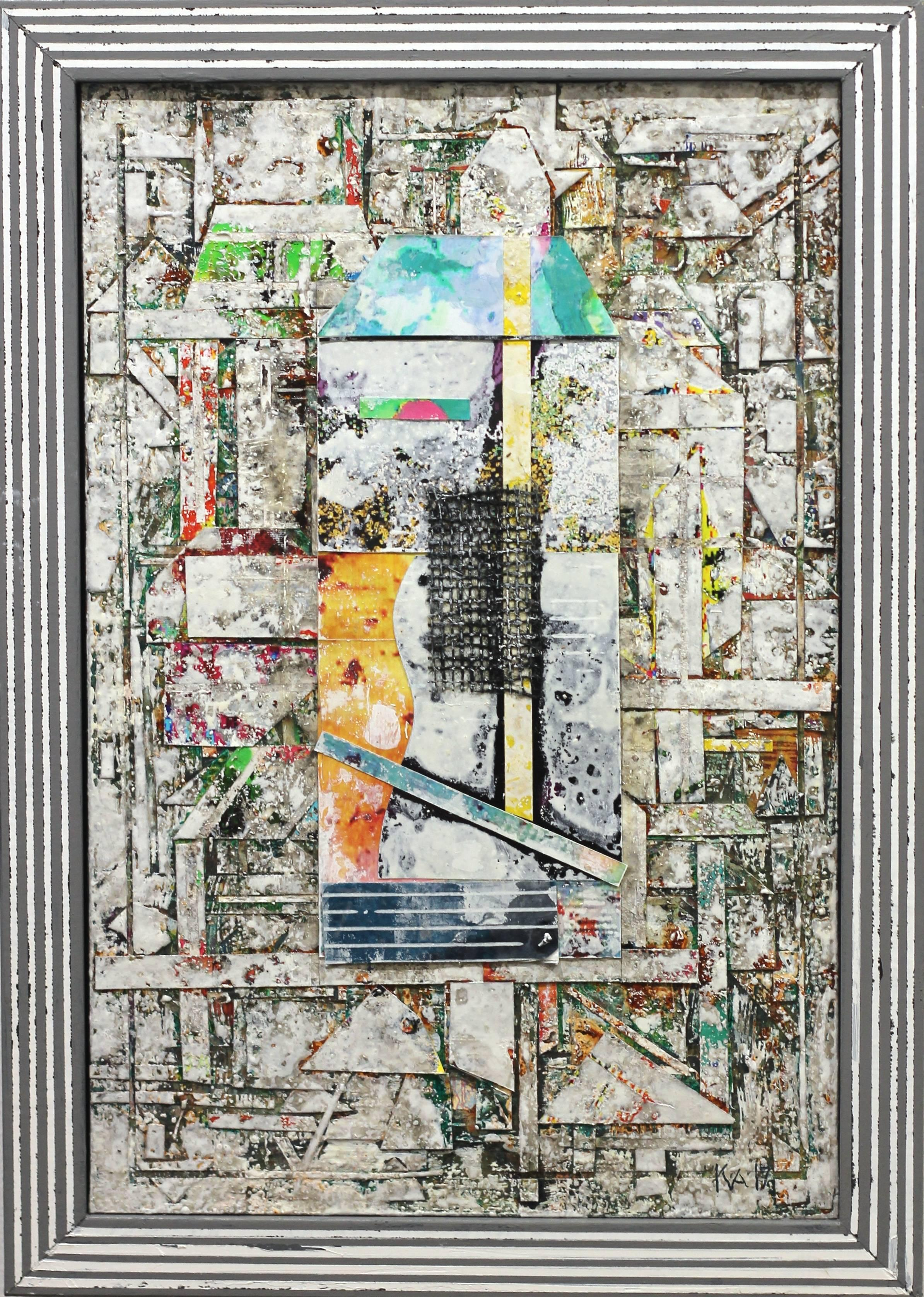 Sublime 758 - Framed original three-dimensional photographic collage artwork