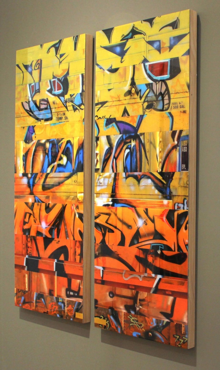 Sun King (diptych) For Sale 1