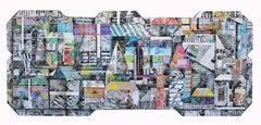 Sublime 790 - Sculptural Contemporary Photographic Collage Artwork