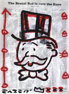 """Brutal"" - Original Street Art Painting"