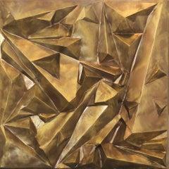 """""""Mercury"""" - sculptural mixed media artwork"""