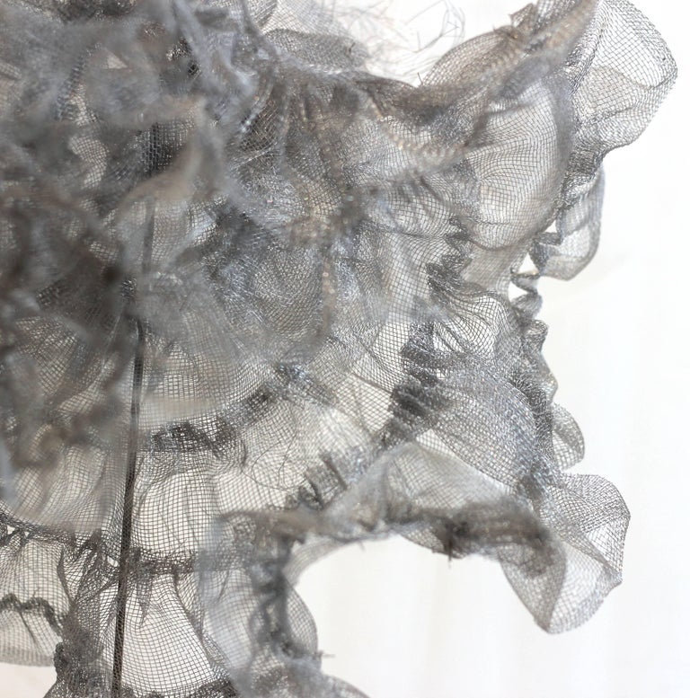 Flamenco - Gray Abstract Sculpture by Atticus Adams