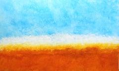 """""""Sailor's Sunset"""", Large Original Abstract Landscape Artwork"""