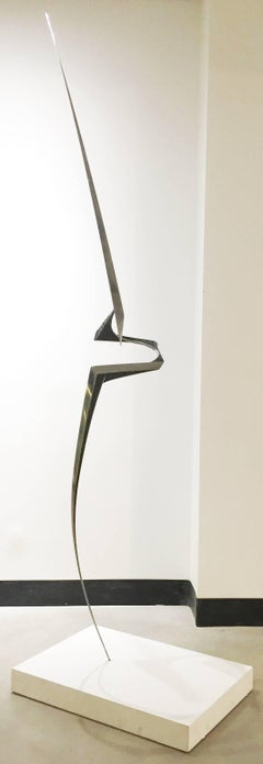 Privileged Moment of Balance - large scale modern sculpture