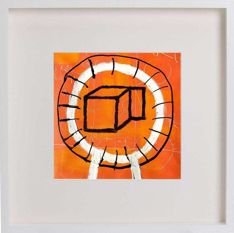 Boxy Circle (framed)