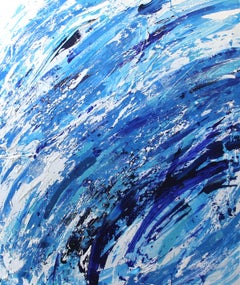 Into The Wave - Large Abstract Original Artwork
