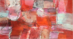 Turning Point - Abstract Mixed Media Painting (framed)