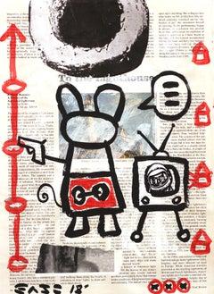 My World - Original Gary John Street Art