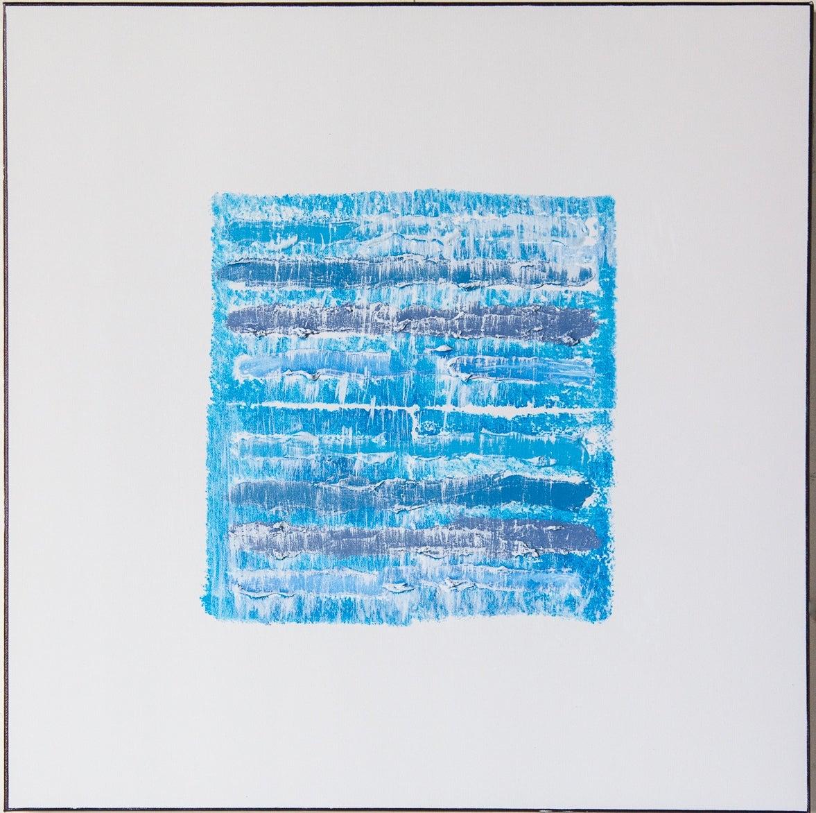 Blue Strata Pattern: Stockholm