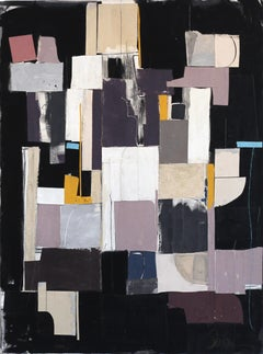 Union Square - Modern Mixed Media Artwork