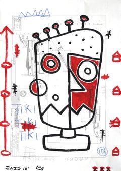 Robot Tiki Man