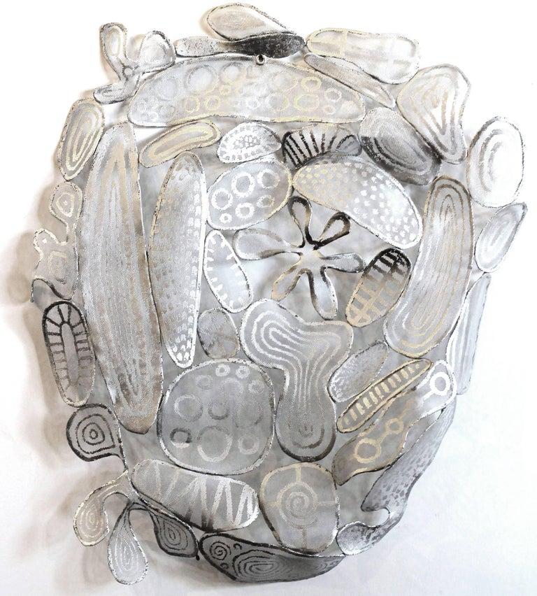Atticus Adams Abstract Sculpture - Hobcaw - Original Three-Dimensional Wall Art