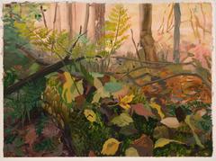 Fallen Log with Fallen Leaves